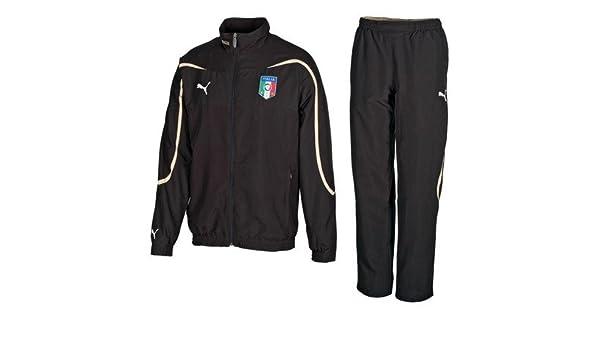 PUMA Chándal Selección Italiana Italia FIGC Temporada Junior XL H ...
