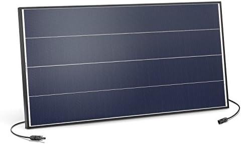 Solarmodul 100 Watt monokristallin 18V mit MC4 Steckverbindungen und neuartiger Schindeltechnik für mehr Leistung, 1031 x 530 x 35 mm Solarpanel esotec 131052