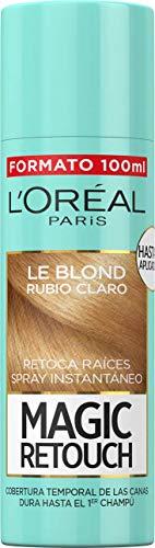🥇 L'Oréal Paris Magic Retouch Spray Retoca Raíces Rubio Claro 100 ml