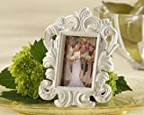 White Baroque Elegant Place Card Holder/Photo Frame, Health Care Stuffs