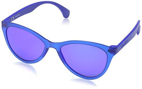 Semi Transp Lunettes Soleil Matt Police Femme Bleu blue de qZw1BOA