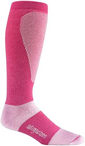 Wigwam Men's Snow Sirocco Knee High Performance ski  Sock,