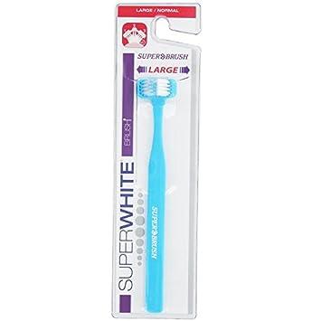 Superwhite Superbrush Cepillo de dientes normal, paquete de 6 : Amazon.es: Salud y cuidado personal