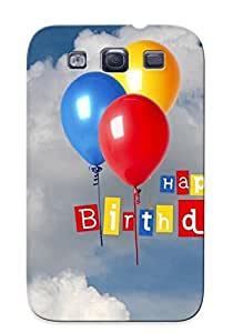 New JIuVAXs2535dafgo Happy Birthday Skin Case Cover Shatterproof Case For Galaxy S3