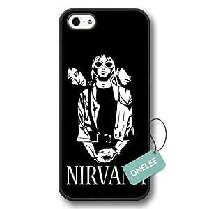 diy case - Nirvana Rock Hard Plastic Case For Iphone 6 4.7 Inch Cover Case & Cover - Nirvana Logo Case For Iphone 6 4.7 Inch Cover - Black 1