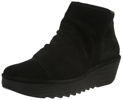 FLY London Riaz691fly, Botines para Mujer Negro (Black 004)