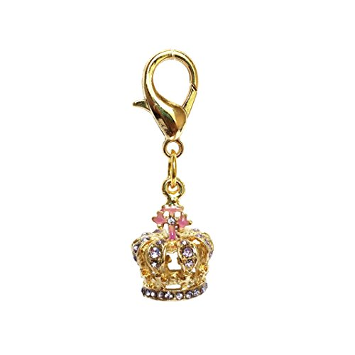 The Dog Squad Clip-On Collar Charms, Royal Queen