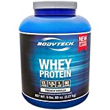 Cheap BodyTech Whey Protein Powder with 17 Grams of Protein per Serving Amino Acids Ideal for PostWorkout Muscle Building, Contains Milk Soy Vanilla (5 Pound)