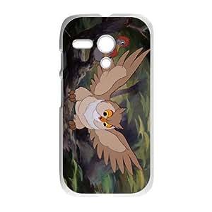 Motorola Moto G Phone Case White Bambi Friend Owl AU7260579