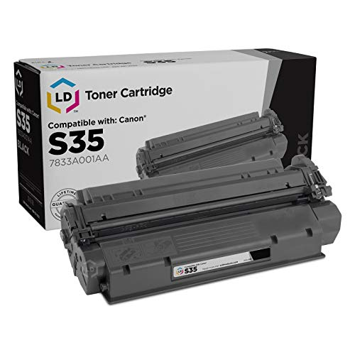 LD Remanufactured Toner Cartridge Replacement for Canon S35 7833A001AA (Black) ()