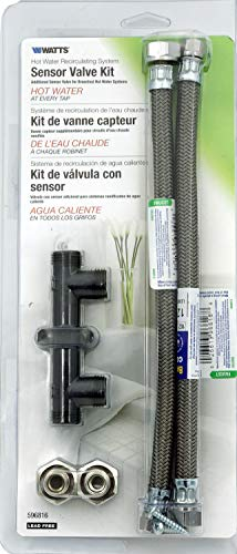 Watts Premier 0955801 Sensor Valve Kit for Watts Hot Water Recirculating Pump (0955800) or Grundfos Up Circulating Pumps - by IPW Industries Inc