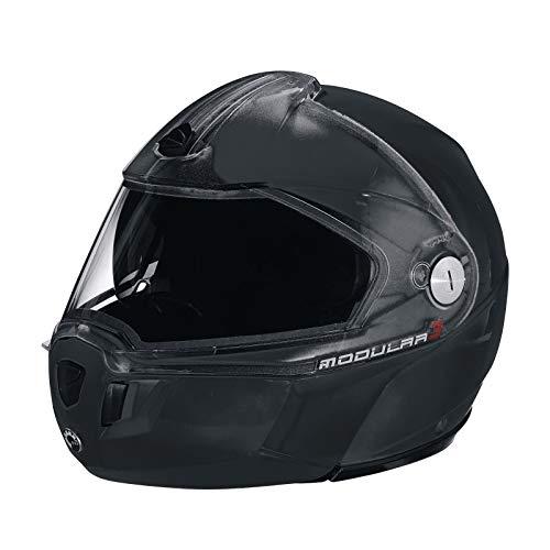 Ski-doo Modular 3 Snowmobiling Helmet-4479631490 (XX-LARGE, BLACK)
