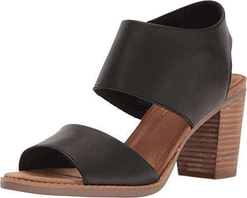 f4811a8804b909 Toms Women s Majorca Cutout Sandal - Black Leather