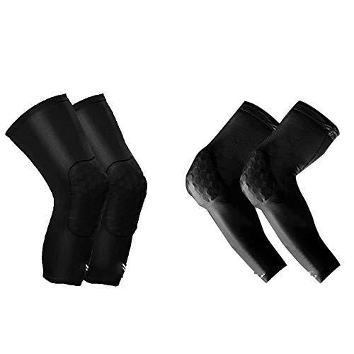 TRDyj Kneepad Elbow Suit Sports Basketball Men