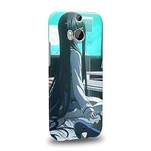 Case88 Premium Designs Heaven's Memo Pad Alice Yuko Shionji 1576 Protective Snap-on Hard Back Case Cover for HTC One M8 by icecream design