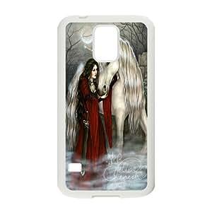 [H-DIY CASE] For Samsung Galaxy S5 -Unicorn and Pegasus-CASE-4
