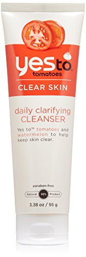 Yes To Tomatoes Daily Clarifying Cleanser, 3.38 Fluid Ounce
