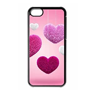 VNCASE Heart Phone Case For Iphone 5C [Pattern-1]