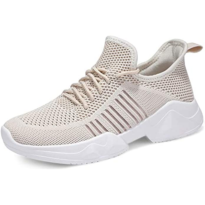 UUBARIS Women Running Lightweight Mesh Tennis Sneaker Fashion Athletic Walking Shoes for Workout
