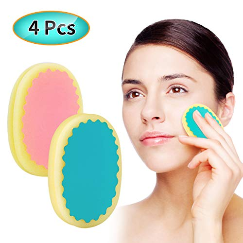 Facial Hair Removal for Women, TOPOINT Flawless Painless Hair Remover Depilation Sponge Pads for Face Lip Armpit Chin Cheek Leg