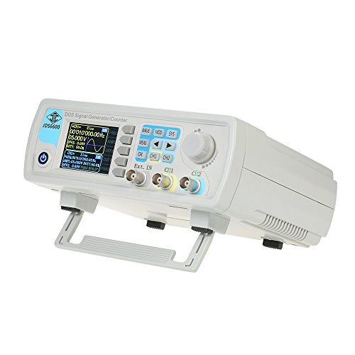 Signal Oscilloscope Generator (KKmoon 40MHz Function Signal Generator Dual-channel DDS Arbitrary Waveform Pulse Signal Generator 1Hz-100MHz Frequency Meter)