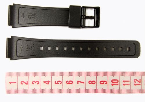 Casio Black Resin Band For F-105 F-91 Watches for sale  Delivered anywhere in USA