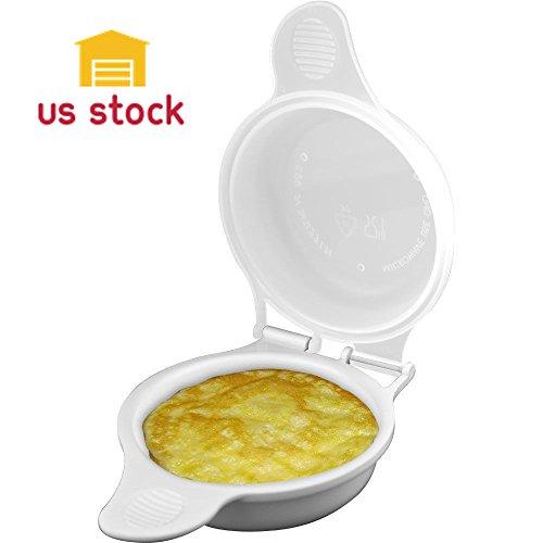 Thegood88 Set of 2 Microwave Egg
