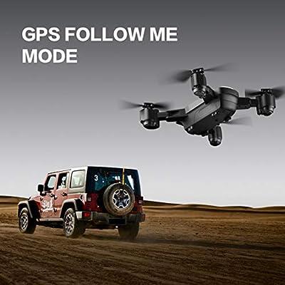 SMRC S20 Mini GPS Drone con cámara gran angular 1080P 2.4G RC ...