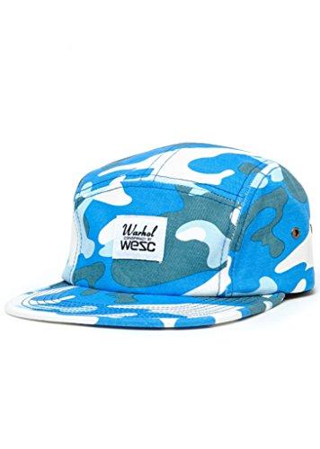 WeSC Men's Warhol 5 Panel Hat, Warhol Camo 1, One Size