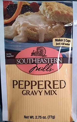 (Southeastern Mills Old Fashioned Peppered Gravy Mix, 2.75 oz)