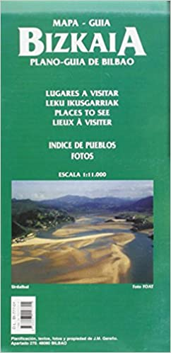 Amazon.com: PLANO-GUIA BILBAO Y CERCANIAS: MAPA-GUIA DE ...
