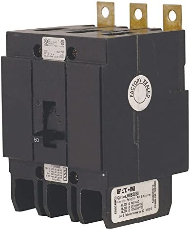 3P Standard Bolt On Circuit Breaker 15A 480VAC