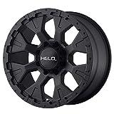 HELO HE878 SATIN BLACK HE878 16x9 6x139.70 SATIN BLACK (-12 mm) rims