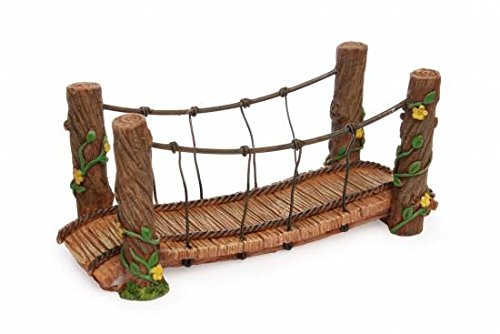 Mg171 Rope Bridge Marshall Home and Garden Fairy Garden by Woodland Knoll/Marshall Home and Garden (Image #1)'