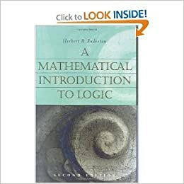 A Mathematical Introduction to Logic