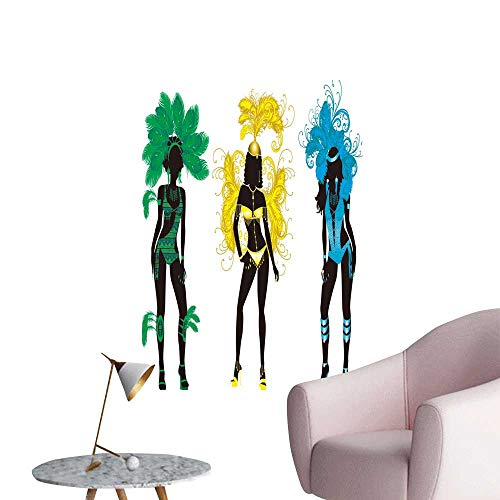 SeptSonne Vinyl Wall Stickers for Carnival s Costumes Perfectly Decorated,32