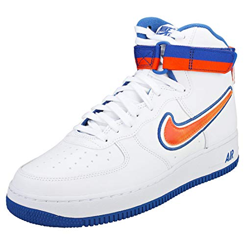 Lv8 arancione team Da Fitness Nike Sport Orange game Reale '07 100 High Force blu white Royal Bianco 1 Air Uomo Scarpe aaA1Xq7