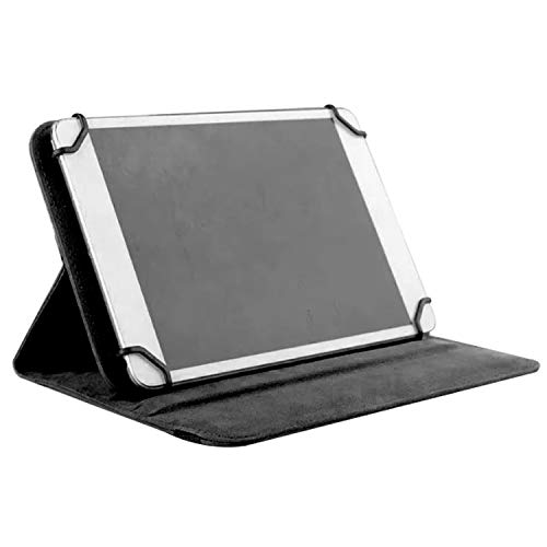 LNBEI Premium Leather Folio Case Cover 9-10 inch Tablet, Leather Stand Protective Case Cover for 9' 10.1' Touchscreen Tablet with Multi-Angle Stand