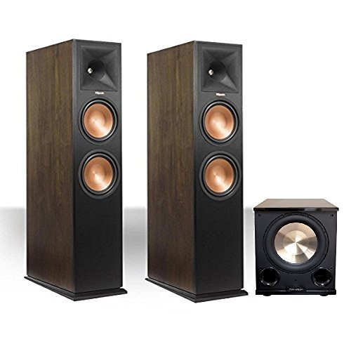 Klipsch 280FA Walnut (Pair) with PL-200II