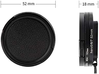 for DJI Gopro Action Camera for GoPro Hero 7//6 //5 Professional 52mm UV Lens Filter with Filter Adapter Ring /& Lens Cap
