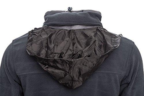Norway Norway giacca mezza in in in uomo Calda invernale stagione pile Nero da Geographical POZqq