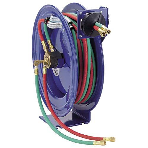 Series Reel Hose Welding (Coxreels Industrial Welding Reel with Oxygen-Acetylene Dual Hose, Model# SHW-N-150, 1/4