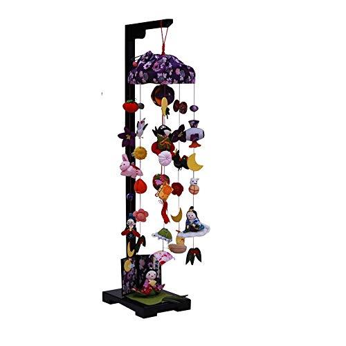吊るし飾り【竹取物語】飾り台セット [中] スタンド付き【sb3-ttm-m】   B07NP3299C