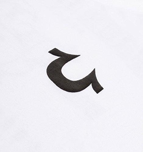 True Religion White Traditional Logo T-Shirt