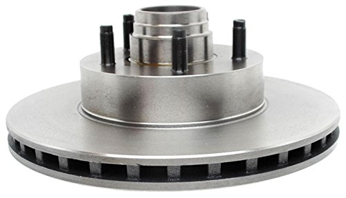 ACDelco 18A1120A Advantage Non-Coated Front Disc Brake Rotor and Hub Assembly (Front Brake Hub Assembly)