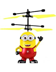 Kids Flying Toys, Flying Ball, RC Infrared Induction Helicopter Ball Built-in Shining color change LED lighting for kids, teens