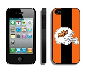 Personalized Iphone 4 4s Case Unique Design Phone Protective Cover Oklahoma State Cowboys 6