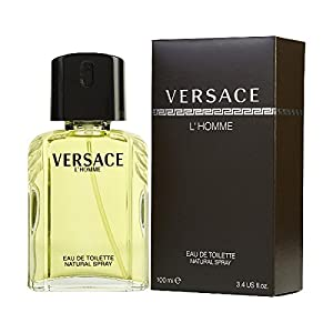 Versace L'Homme by Versace for Men - 3.4Ounce EDT Spray
