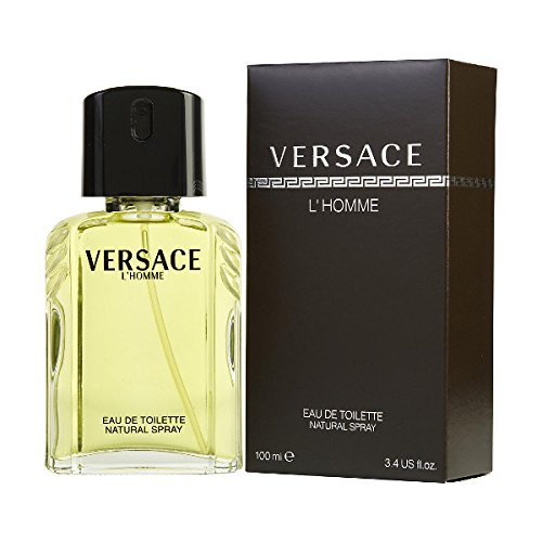 Versace L'Homme by Versace for Men - 3.4Ounce EDT - Store Versace Outlet