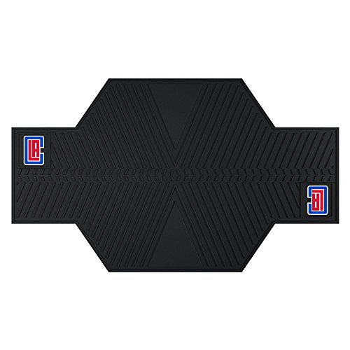 FANMATS 15380 NBA Los Angeles Clippers Motorcycle Mat by Fanmats
